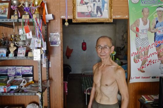 Is this Thailand's fastest 70 year old?