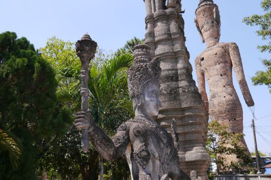 Sculptures of the Xieng Khuan Buddha Park, II, Nong Khai.