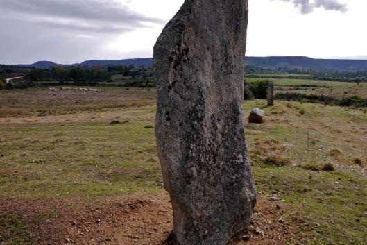 Standing stones in Sardinia.