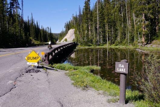 Isa Lake, Continental Divide, Yellowstone NP, WY.